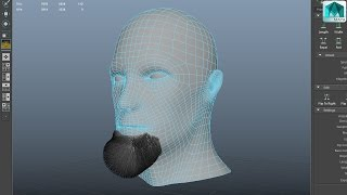 How to create facial hair for your 3D model