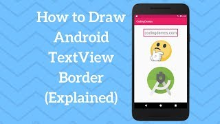 How to Draw Android TextView Border (Explained)