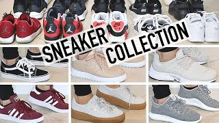 MY SNEAKER COLLECTION + TRY ON! ADIDAS, NIKE, PUMA, AND MORE!