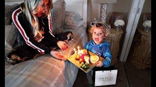 Tydus SURPRISES MOMMY On Her Birthday!!