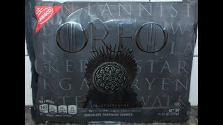 Game of Thrones Oreo Cookie Review