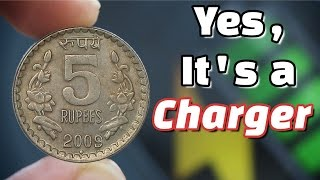 Charge Your Phone Using Coin | Coin Charger