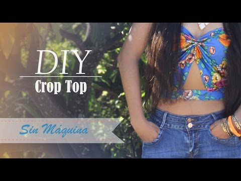 DIY Crop Top sin Máquina de coser