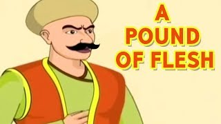 Akbar Birbal Stories In Hindi | A Pound Of Flesh | Hindi Animated Stories | Masti Ki Paathshala