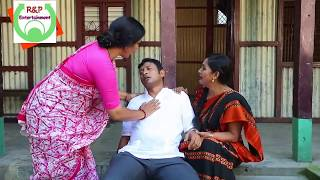 Bangla Funny Comedy Scene by A K M Hasan and Pran Roy ft Bangla Natok