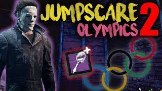 JUMPSCARE OLYMPICS 2 - The Shape - Dead by Daylight with HybridPanda