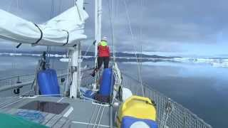 Le passage du Nord-Ouest du Groenland à la mer de Béring