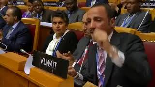 أعنف هجوم عربي في التاريخ .. رئيس البرلمان الكويتي يطرد الوفد الاسرائيلي من القاعة
