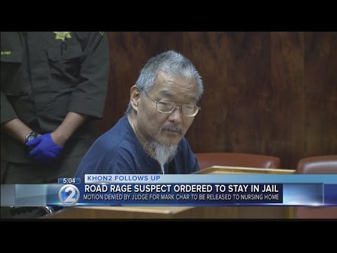 Road rage suspect denied supervised release for second time