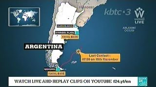 Argentine Finds Missing Submarine A Year After It Vanished With 44 On Board!