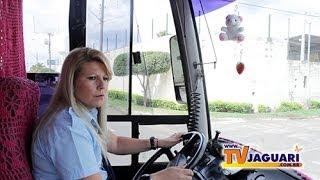 Elas também dirigem ônibus