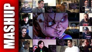 CULT OF CHUCKY Teaser Trailer Reactions Mashup