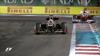 Raikkonen 'Left Alone' To Victory | 2012 Abu Dhabi Grand Prix