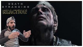 Death Stranding - Teaser Trailer 2016 REACTION! Hideo Kojima San!