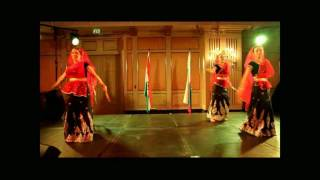 Dandiya Indian Folk Dance (Amritsar Project Moscow)