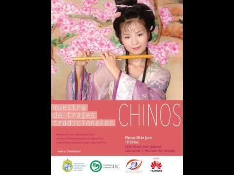 Muestra de Trajes Tradicionales Chinos