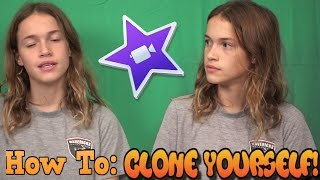 How To: Clone Yourself In iMovie (2016)