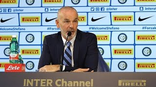 Live! Conferenza stampa di Pioli prima di Inter-Fiorentina 26.11.2016 CEST