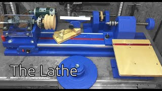 How to Build A Lathe Mostly from Wood. Part 1 Intro, And The Plans:  021