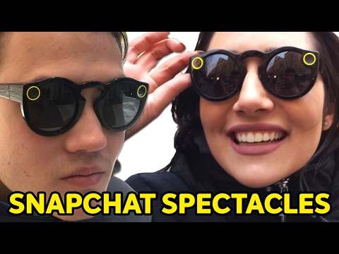 We Tried Snapchat Spectacles • Saf & Tyler