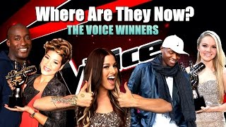 Where Are They Now? - The Voice Winners (Seasons 1-5)