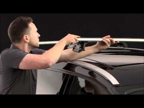 Thule 753 Foot Pack With 4xxx Series Kit Video Demonstration | roofracks.co.uk
