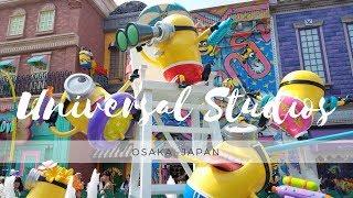 Universal Studios Japan. Osaka 2018