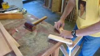 Make a folding step stool