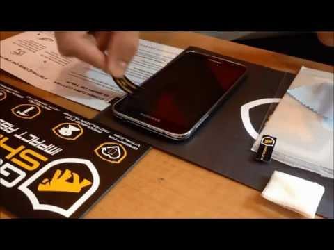 Review e como instalar película vidro Gorila Shield