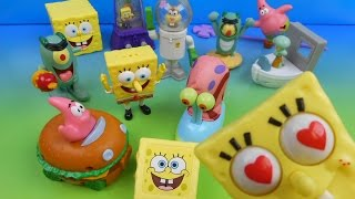 2004 SPONGEBOB SQUAREPANTS THE MOVIE SET OF 12 BURGER KING KID