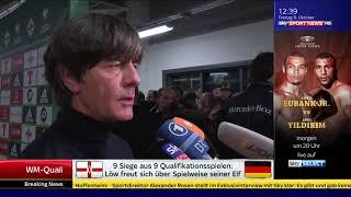 Joachim Löw/die Mannschaft - SSN 06.10.17
