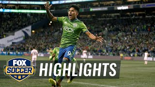Raul Ruidiaz scores and sends game into extra time vs. Portland Timbers   Audi 2018 MLS Cup Playoffs