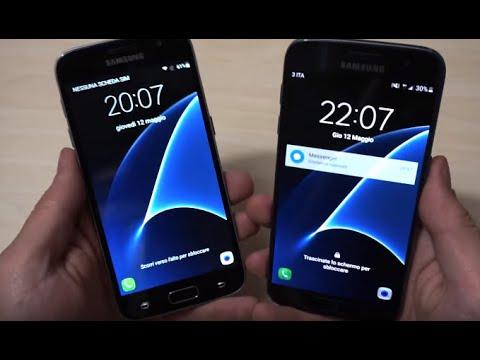Galaxy S7 originale vs Clone Fake - HDC S7 lte ita