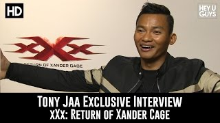 Tony Jaa Exclusive Interview - xXx: Return of Xander Cage