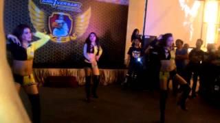 Sexy dancer di aniv YR15CI @Jakarta