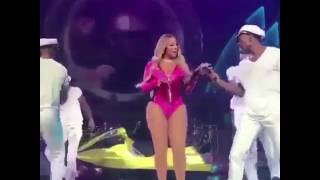Mariah Carey 'No F's Given' Performance Dubbed