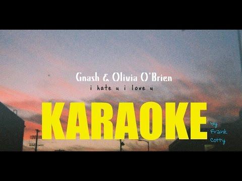 Gnash Feat Olivia O Brien I Hate U I Love U Insru Karaoke Lyrics Paroles