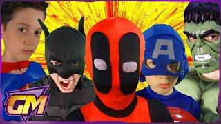 Deadpool Vs Superman V Batman V Captain America V Hulk V Joker - POV