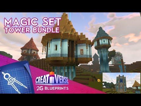 Xxx Mp4 Creativerse Tower Bundle Magic Set 2G Blueprints 3gp Sex