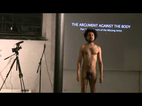 Robin Deacon The Argument against the Body