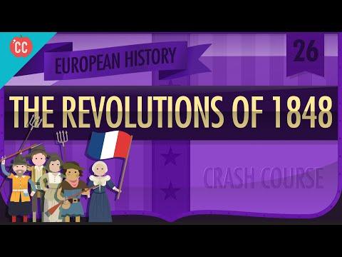 Revolutions of 1848 Crash Course European History 26