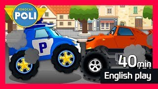 English Special play for Kids | 40min |Robocar Poli Game