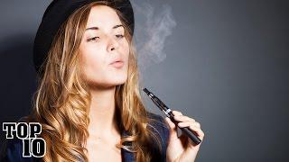 Top 10 Facts About E-Cigarettes