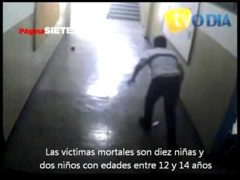 Un fanático religioso mata a 12 niños en una escuela en Brasil