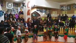 حضور ناصر ملک مطیعی در زورخانه ای در اصفهان 15دی ماه96