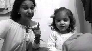 Anahis martin con su sobrina