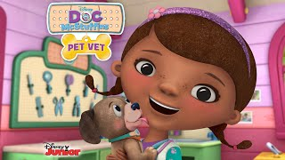 Doc McStuffins Full Episodes of Pet Vet Game (iOS/Android Game by Disney Jr. for Kids) HD English
