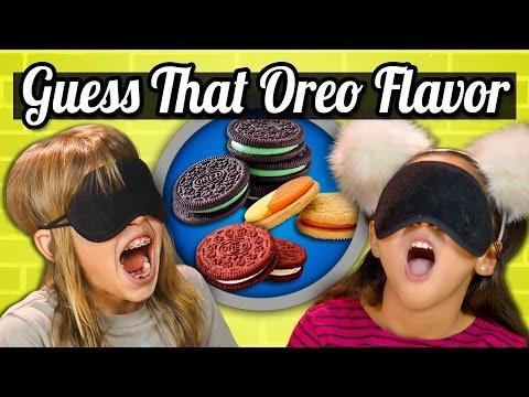 Xxx Mp4 GUESS THAT OREO CHALLENGE Kids Vs Food 3gp Sex