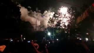 Thrissur Pooram Fireworks 2014 - Paramekavu HD