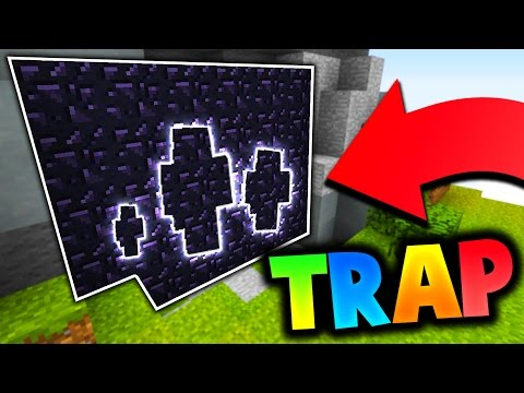 THE BEST OBSIDIAN TRAP EVER Minecraft Bed Wars